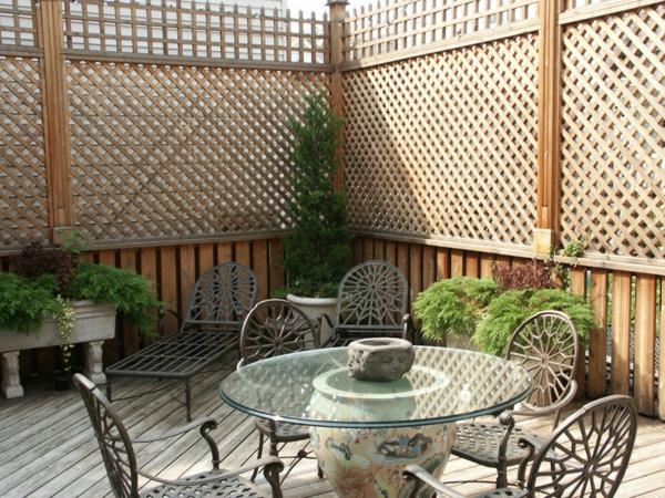 Choisissez un panneau occultant de jardin for Deco jardin claustra