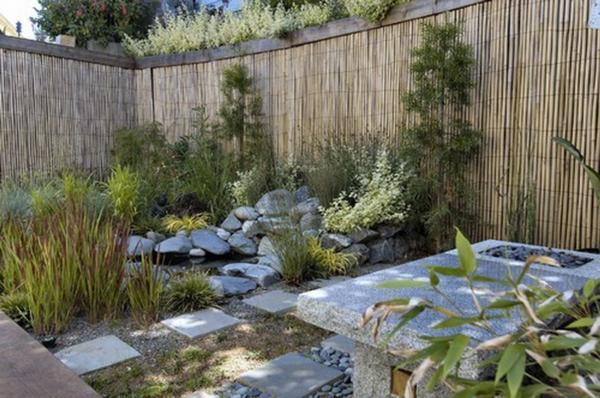 Choisissez un panneau occultant de jardin for Jardin zen avec bambou