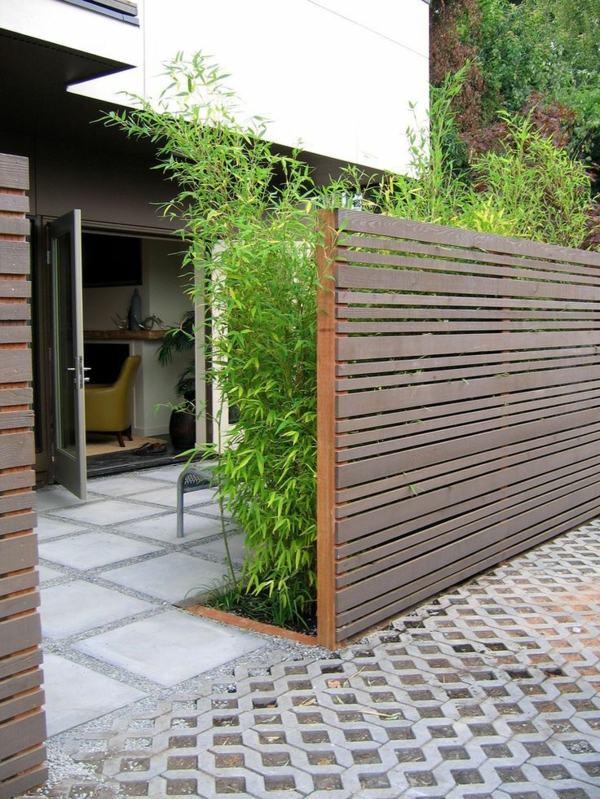 Choisissez un panneau occultant de jardin for Espace zen jardin
