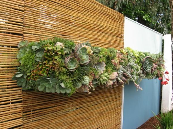 panneau-occultant-de-jardin-idées-créatives-clôtures-extérieures