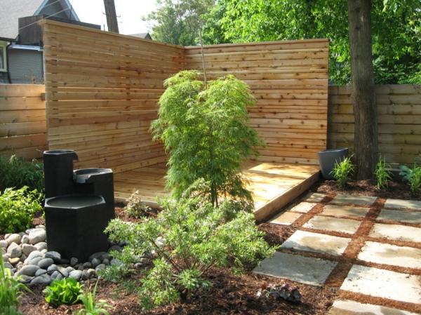Choisissez un panneau occultant de jardin - Idee de deco jardin exterieur ...