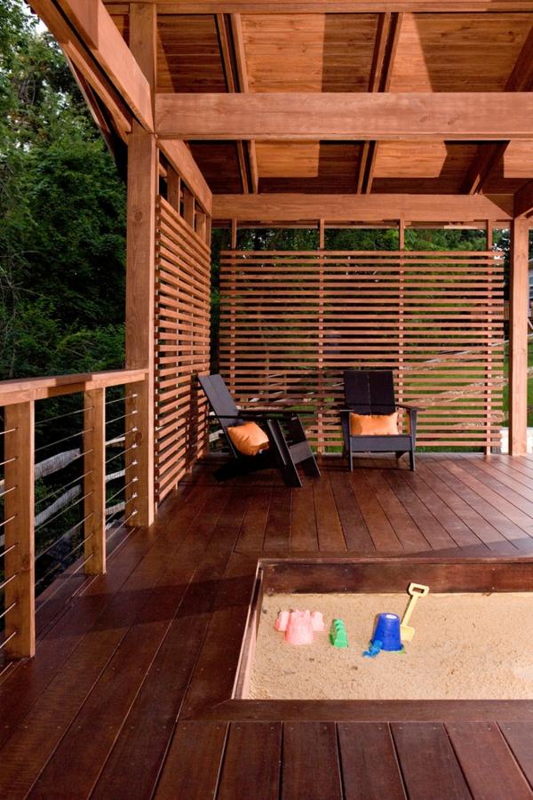 Choisissez un panneau occultant de jardin for Deco jardin bois exterieur