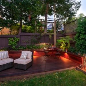 Choisissez un panneau occultant de jardin