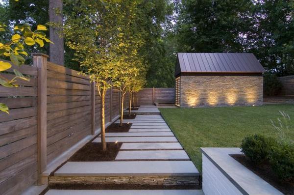 Choisissez un panneau occultant de jardin for Paroi bois jardin