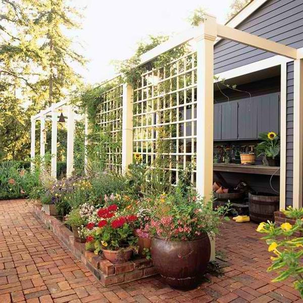 panneau-ocultant-de-jardin-lattice-blanc-pour-l'extérieur
