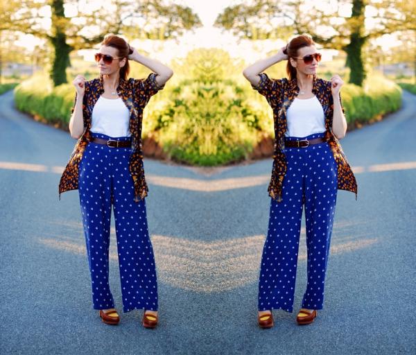 pantalon-fluide-bleu-pointillé