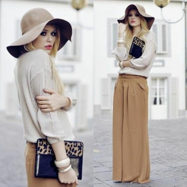 pantalon-fluide-un-pantalon-marron-clair