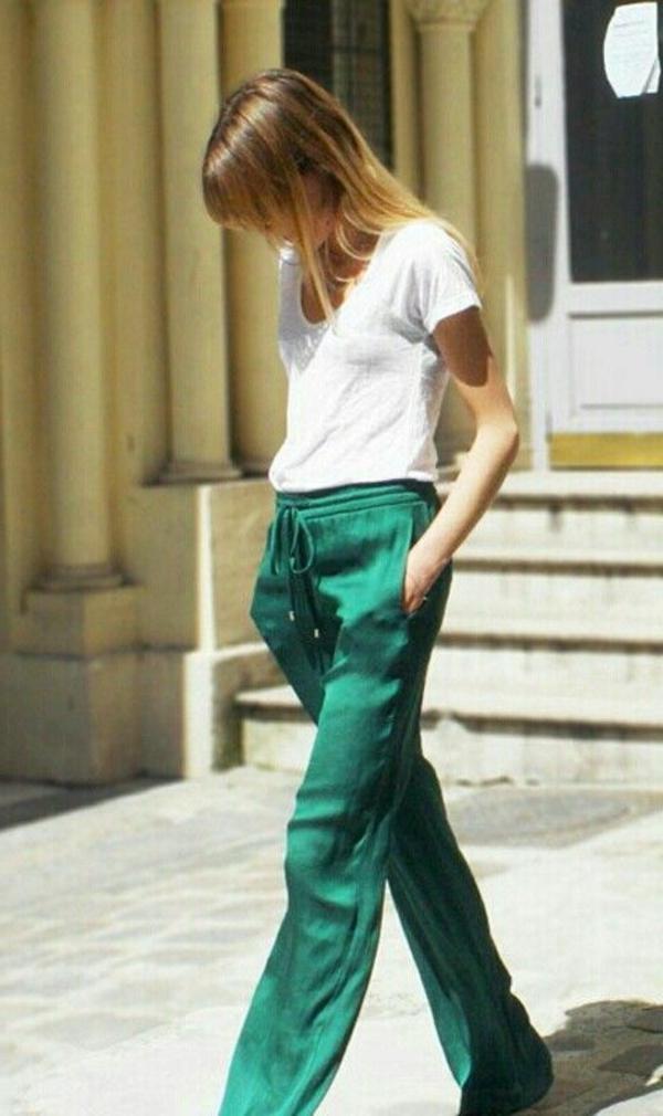 pantalon-fluide-vert-satiné