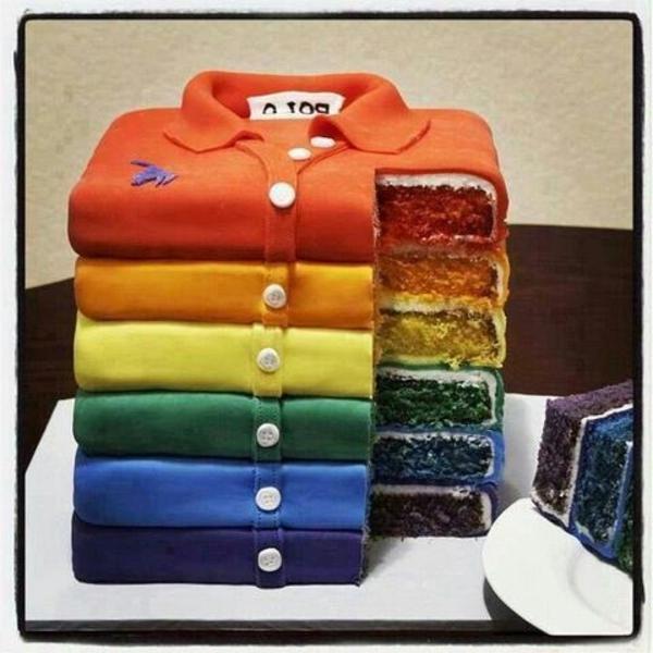 patisserie-pour-votre-fête-spéciale-chemises-arc-en-ciel