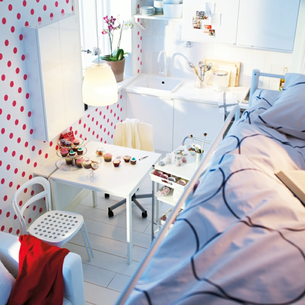 ikea petits espaces perfect idee chambre bebe petit. Black Bedroom Furniture Sets. Home Design Ideas