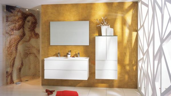 pièce-déco-zen-ultra_blanc_brillant-or-carrelage_blanc-jaune-