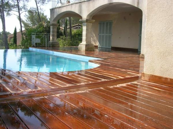 votre piscine semi enterr e 30 id es cr atives. Black Bedroom Furniture Sets. Home Design Ideas