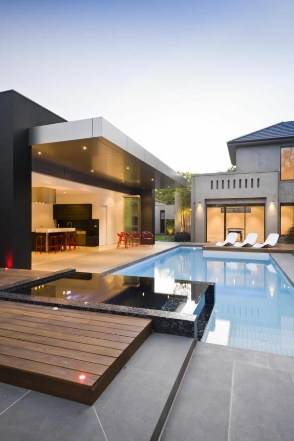 piscine-semi-enterée-luxe