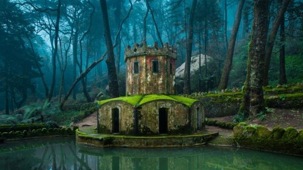 place-magique-Sintra-Portugal-Nature-Images-ancien-mistique