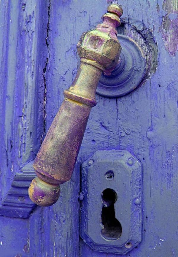 poignée-de-porte-d-éntree-originale-colorée