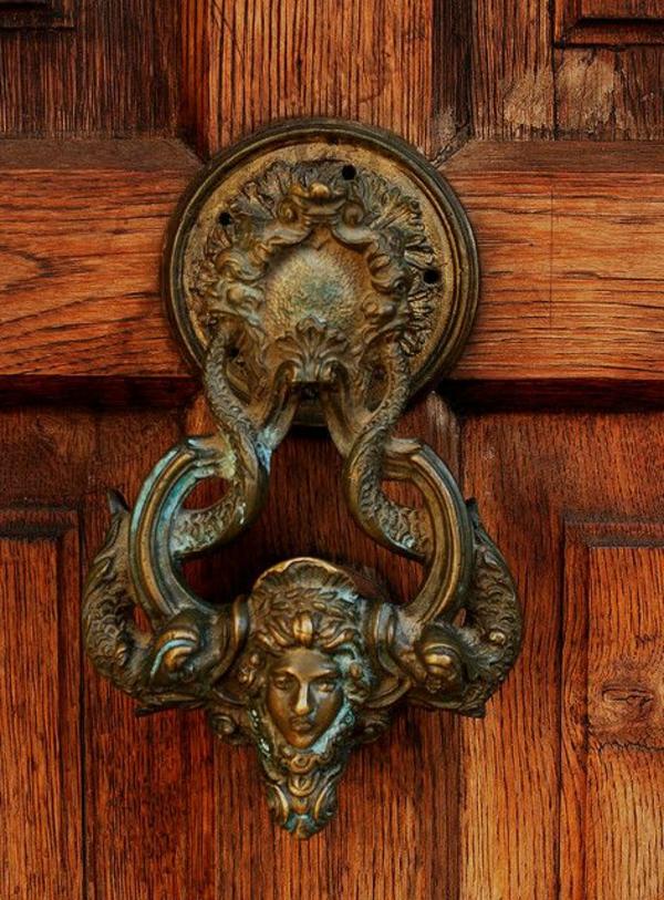 Sticker pour porte d entree bois