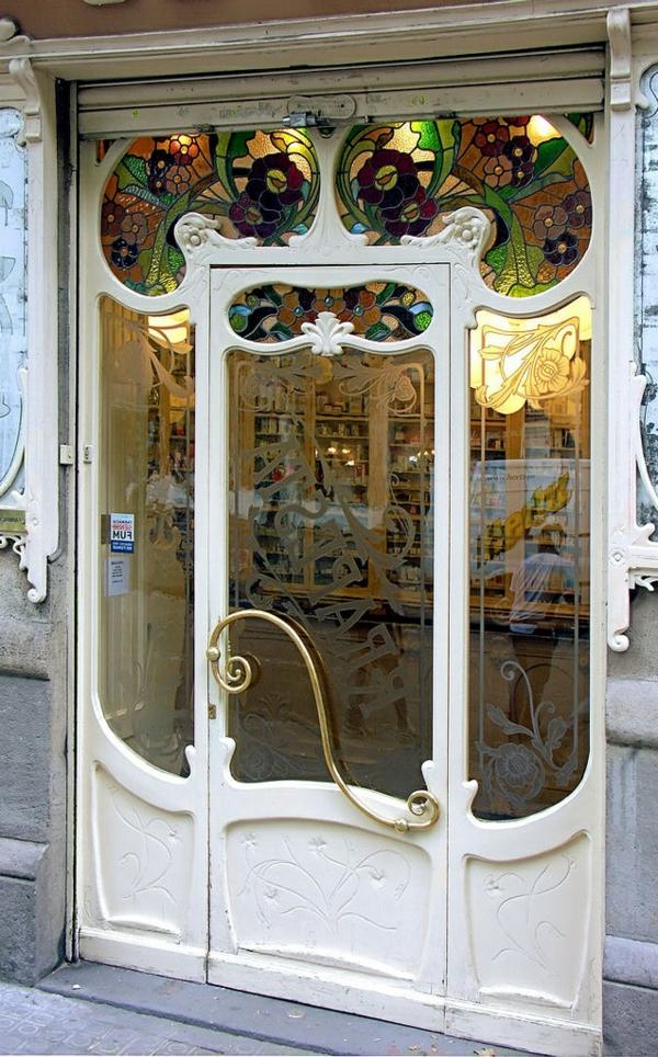 porte-d-entrée-poignée-originale-baroque