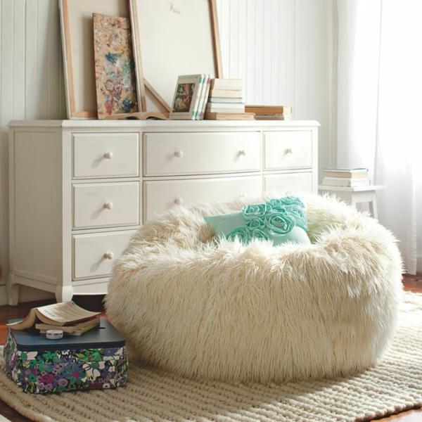 pouf-géant-blanc-assises-moelleuses