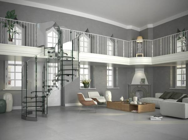 projet-maison-moderne-spacieuse-vaste-gris-cheminée-divison-des-étages