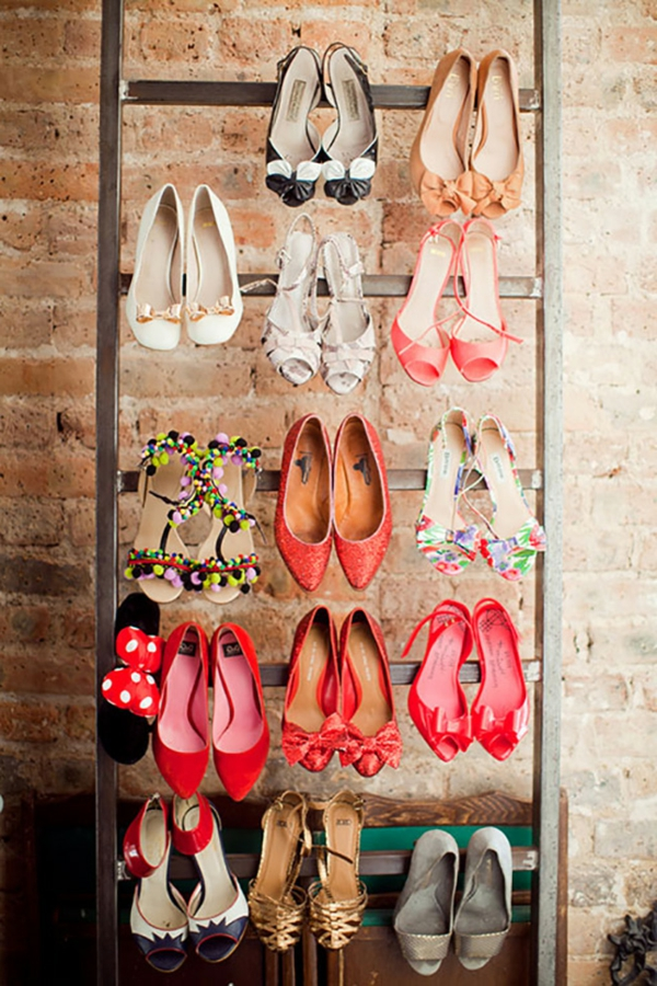 ranger-mes-chaussures-idées-créatives-échelle-style-new-york