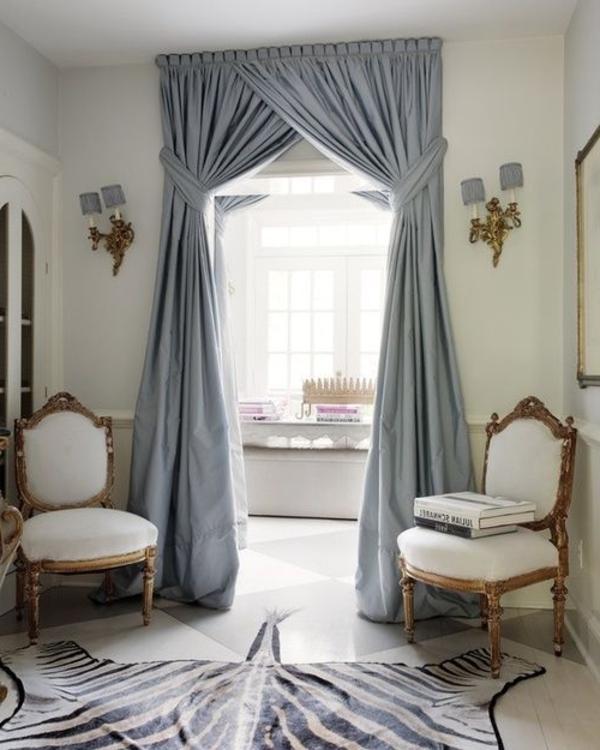 Rideaux pour fen tre id es cr atives pour votre maison for Decoration fenetre avec rideau
