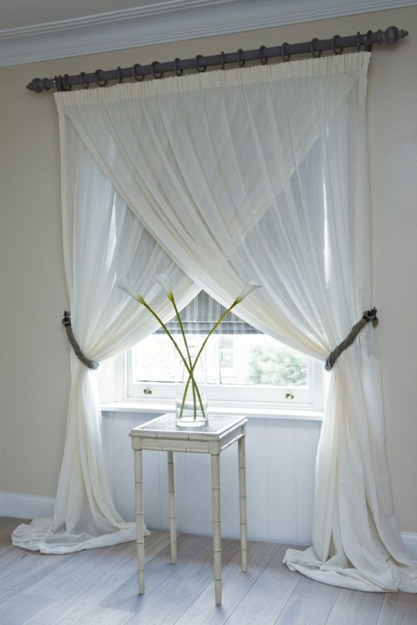 Rideaux pour fen tre id es cr atives pour votre maison - Maison coloree rideaux ...