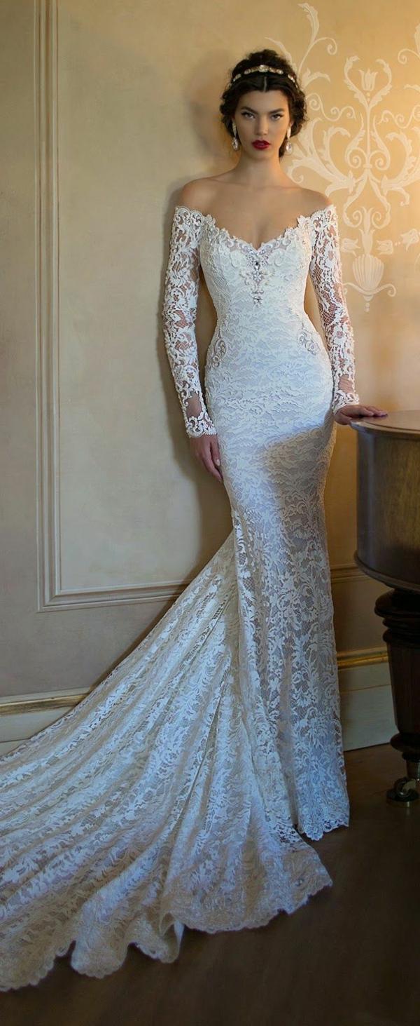 robe-blanche-dentelle