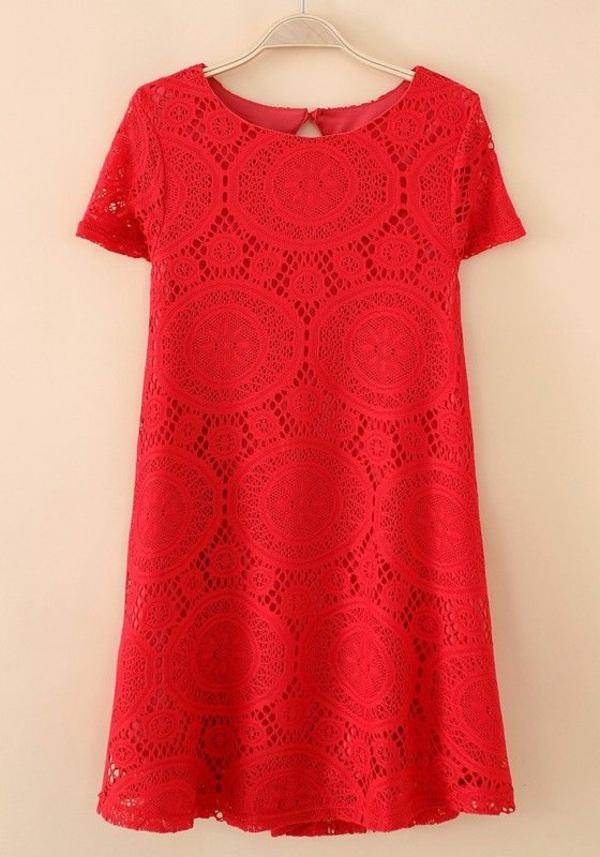 robe-classique-en-rouge