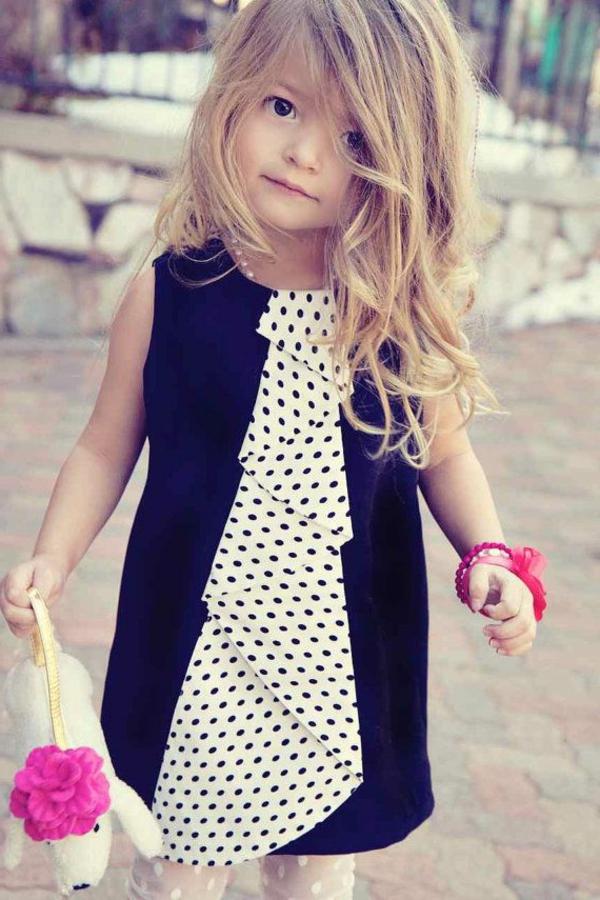 robe-de-soirée-pour-enfant-classique