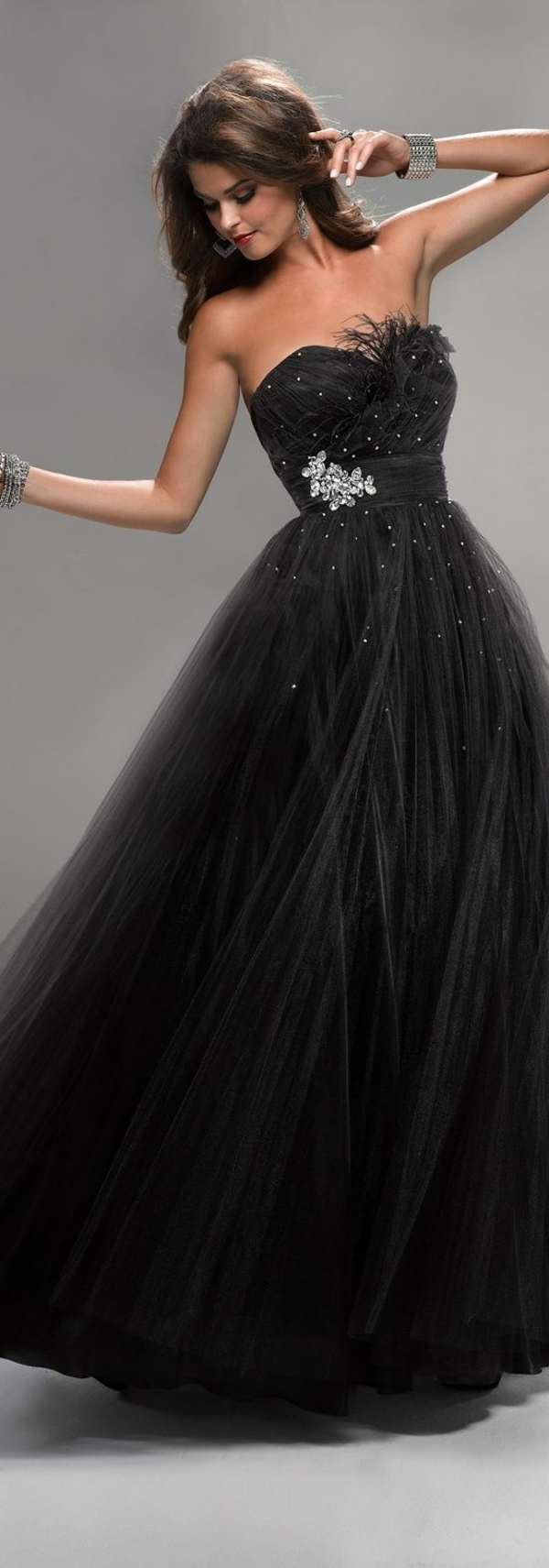 La robe bustier comment la porter - Robe pour bal de promo ...