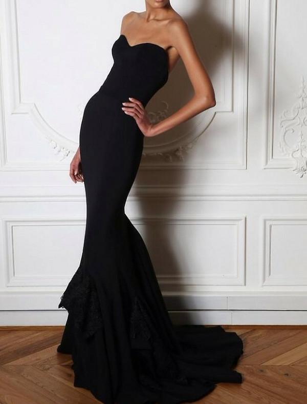 robe-de-soirée-rouge-robe-bal-de-promo-longue-noire-classique-jolie