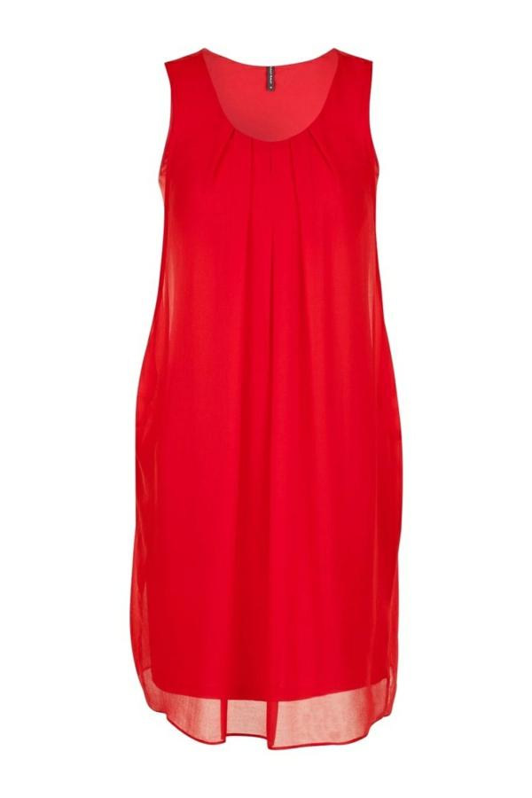 robe-pour-sortir-rouge-classique