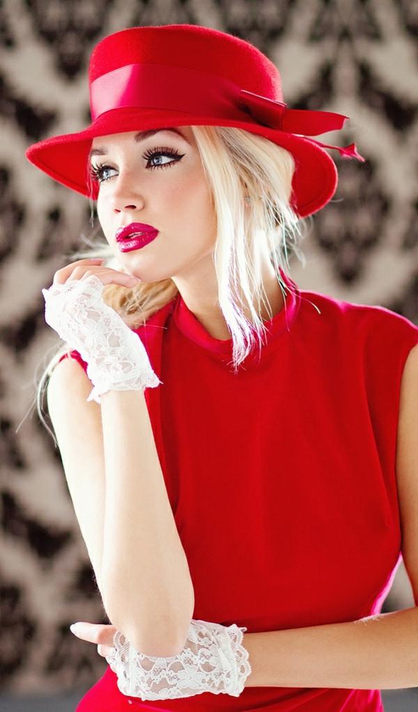robe-pour-sortir-rouge-modèle