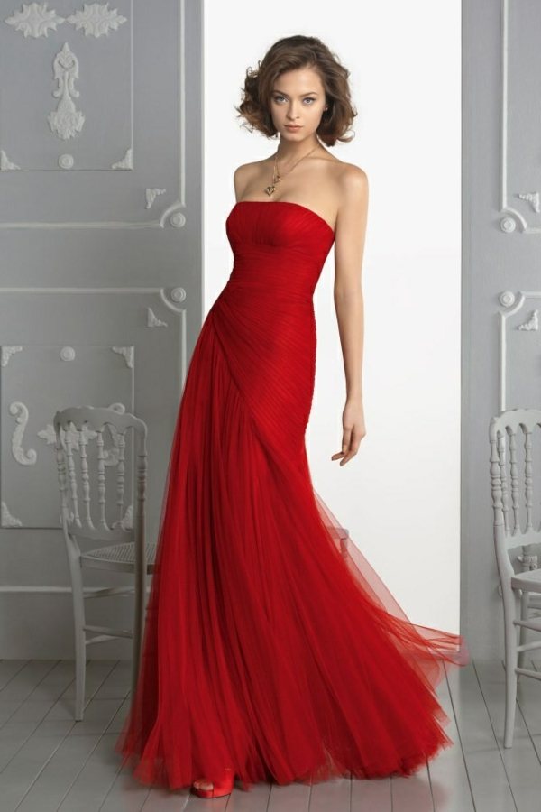 robe-pour-sortir-rouge