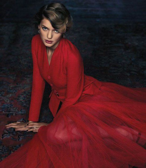robe-retro-rouge