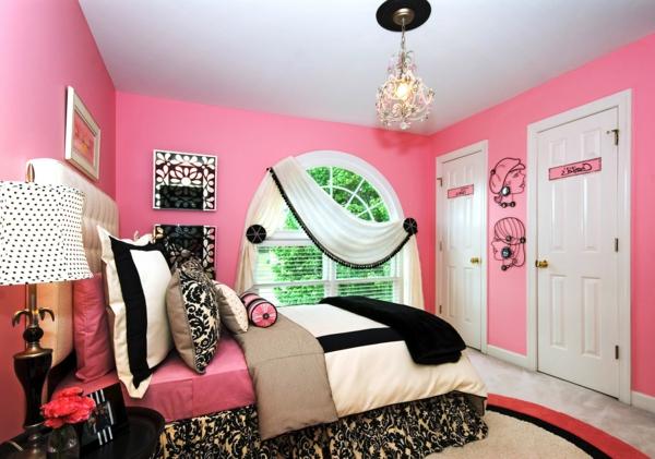 rose-chambre-dormir-intérieur-luxe-couverture-prints-animeuax