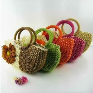 Le sac en paille - un style à touche nature!