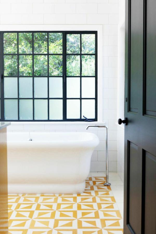 La décoration de salle de bain  si mignon en vintage style!