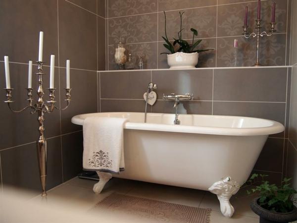 D co salle de bain zen - Salle de bain avec baignoire ilot ...