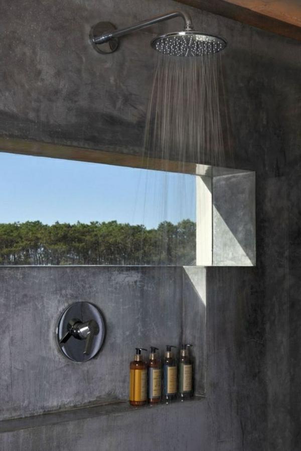 salle-de-bain-gris-murs-douche-robinet-sans-toucher