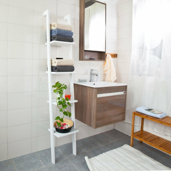 Tag re chelle plus de 65 id es en images for Etagere salle de bain conforama
