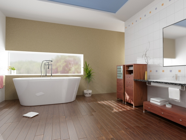 salle-de-bain-vasque-baignoire=-simple-minimaliste-resized