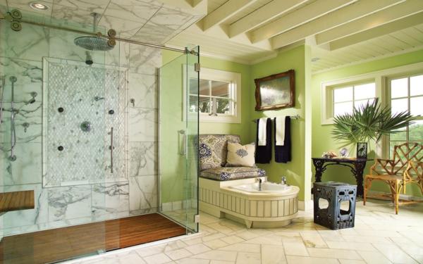 salle_de_bain_colorée-vert-vasque-bath-tube