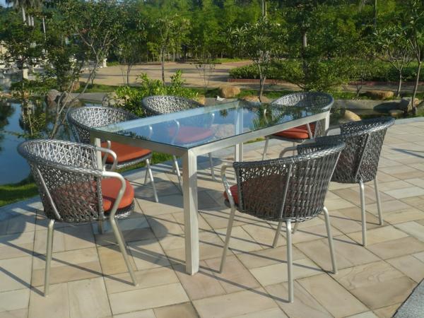 salon-de-jardin-en-aluminium-équipement-pour-l'extérieur-en-aluminium