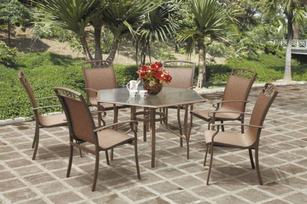 salon-de-jardin-en-aluminium-table-hexagonale