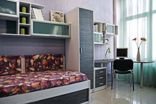 60 id es pour un am nagement petit espace. Black Bedroom Furniture Sets. Home Design Ideas