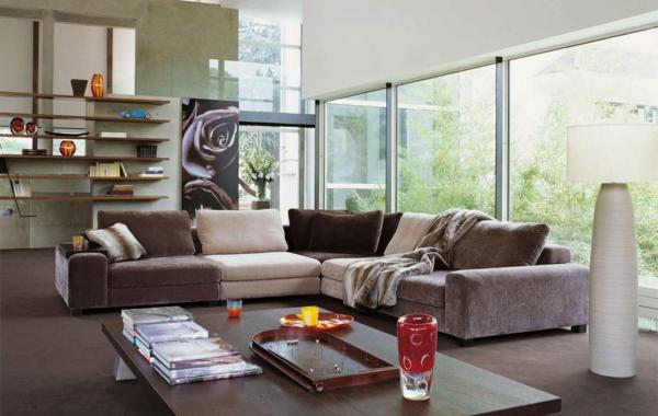 salon-roche-bobois-des-sofas-taupes-fenêtres-panoramiques