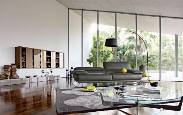 salon-roche-bobois-espace-moderne-et-beau
