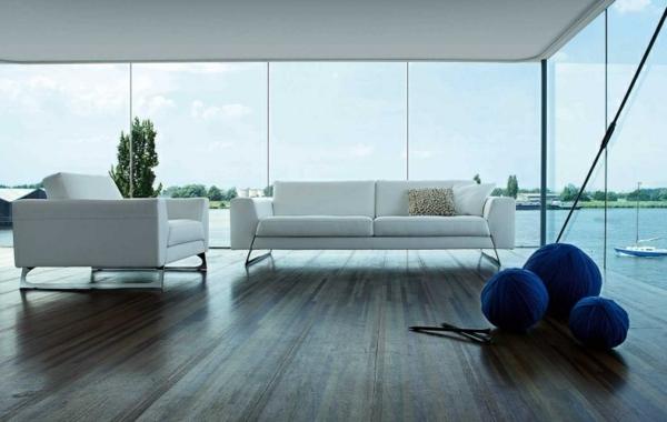 salon-roche-bobois-sofa-et-fauteuil-blancs