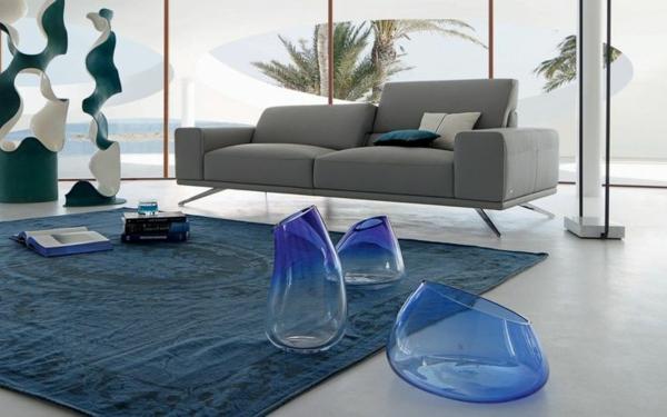 salon-roche-bobois-un-sofa-moderne-gris